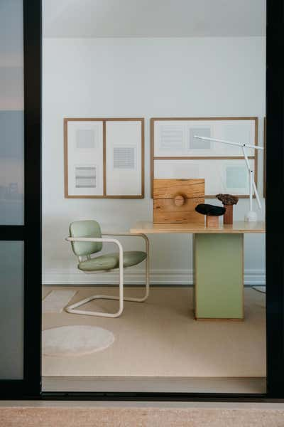 Scandinavian Office and Study. Noe Valley Residence by Studio AHEAD.