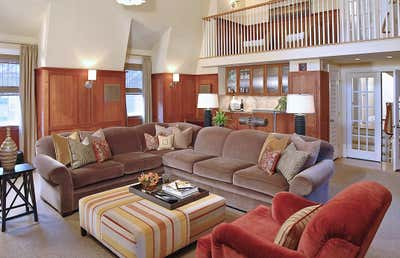 Transitional Family Home Open Plan. South Orange, NJ  Dutch Colonial Residence by Keita Turner Design.