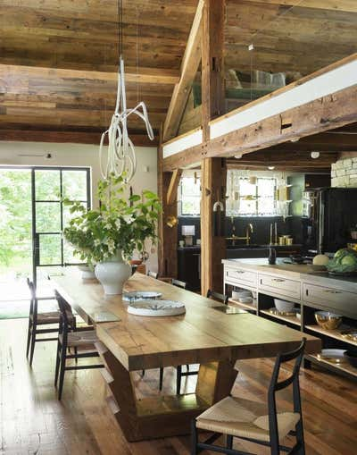 Country Entry and Hall. The Lodge  by The Brooklyn Home Co..