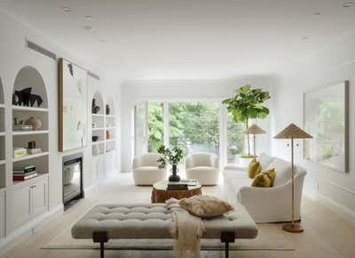 Country Living Room. Carroll Gardens Townhouse  by The Brooklyn Home Co..