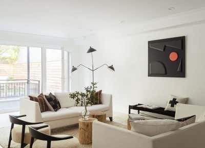 Country Meeting Room. Carroll Gardens Townhouse  by The Brooklyn Home Co..