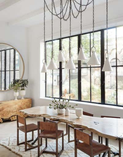 Contemporary Dining Room. Brooklyn Heights Townhouse  by The Brooklyn Home Co..