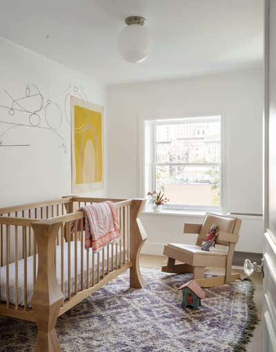 Contemporary Bedroom. Brooklyn Heights Townhouse  by The Brooklyn Home Co..