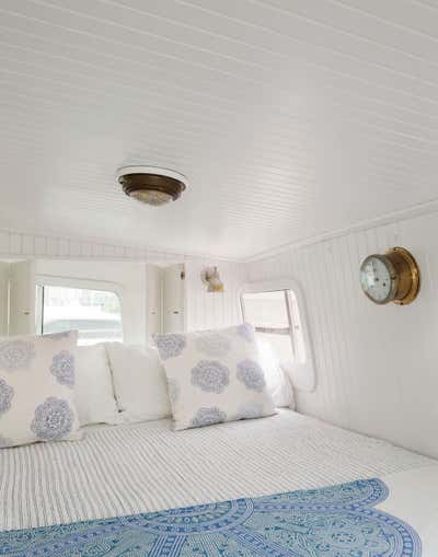 Beach Style Bedroom. Lucy the Tugboat by The Brooklyn Home Co..