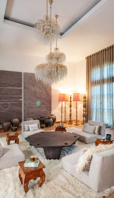 Eclectic Living Room. Eclectic Chic by A Interiors.