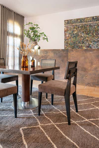 Eclectic Dining Room. Eclectic Chic by A Interiors.