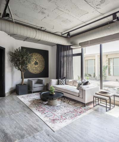 Contemporary Living Room. Law firm in the heart of Riyadh by A Interiors.