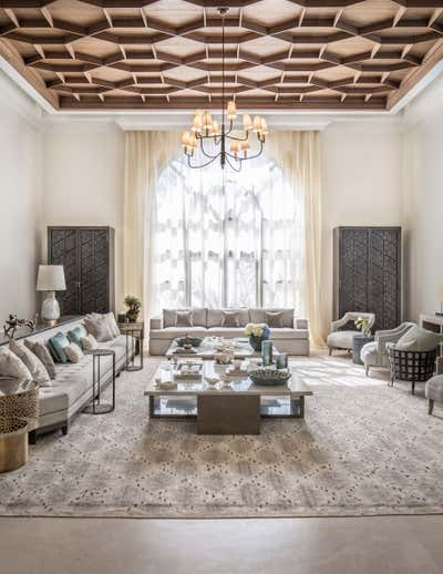 Contemporary Living Room. Residence in Riyadh by A Interiors.