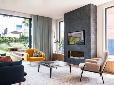 Contemporary Living Room. Jacaranda House by More Than Space.