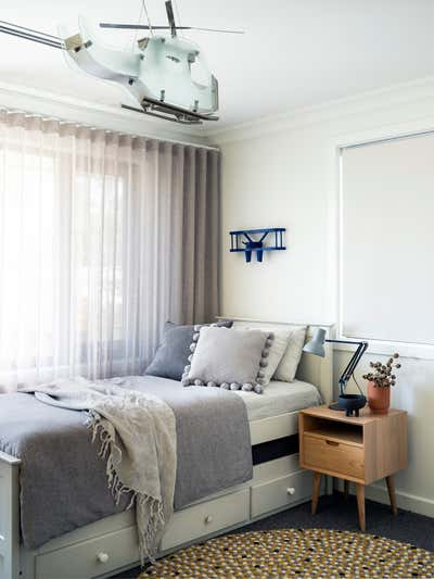 Contemporary Children's Room. Jacaranda House by More Than Space.