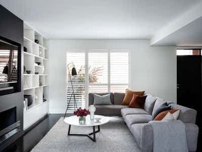 Contemporary Living Room. Pyrmont Residence by More Than Space.