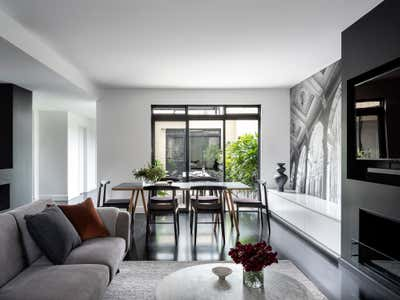 Contemporary Dining Room. Pyrmont Residence by More Than Space.