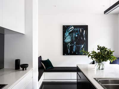 Contemporary Kitchen. Pyrmont Residence by More Than Space.