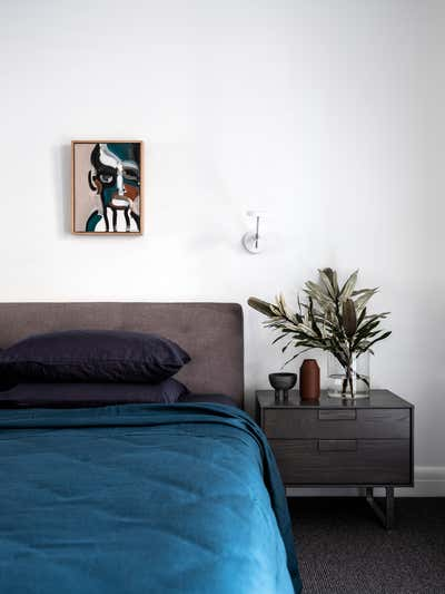 Contemporary Bedroom. Pyrmont Residence by More Than Space.