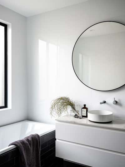 Contemporary Bathroom. Pyrmont Residence by More Than Space.