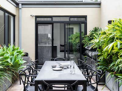 Contemporary Patio and Deck. Pyrmont Residence by More Than Space.