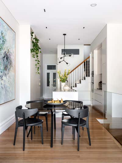 Contemporary Family Home Dining Room. Paddington Residence by More Than Space.