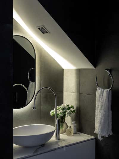 Contemporary Family Home Bathroom. Paddington Residence by More Than Space.