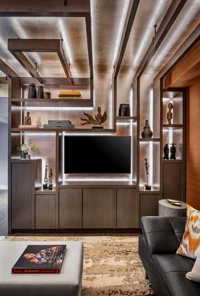 Transitional Living Room. Toronto Penthouse by Sheree Stuart Design.