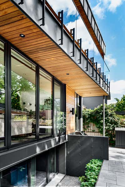 Industrial Exterior. Hillsdale by Sheree Stuart Design.