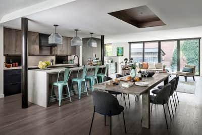 Transitional Family Home Open Plan. Hillsdale by Sheree Stuart Design.