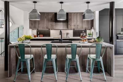 Industrial Kitchen. Hillsdale by Sheree Stuart Design.