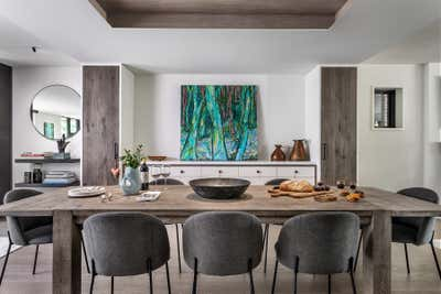 Industrial Dining Room. Hillsdale by Sheree Stuart Design.