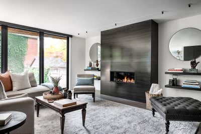 Industrial Living Room. Hillsdale by Sheree Stuart Design.