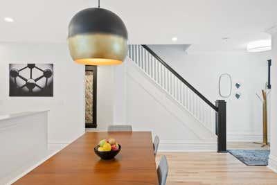 Art Deco Family Home Open Plan. Modern Minimalist Deco by Delicate Steel.