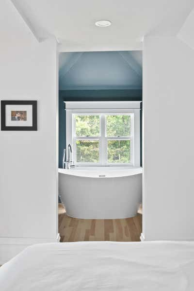 Contemporary Family Home Bathroom. Attic Ensuite Escape by Delicate Steel.