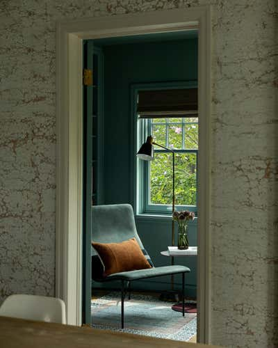 British Colonial Office and Study. Circle House by Susannah Holmberg Studios.