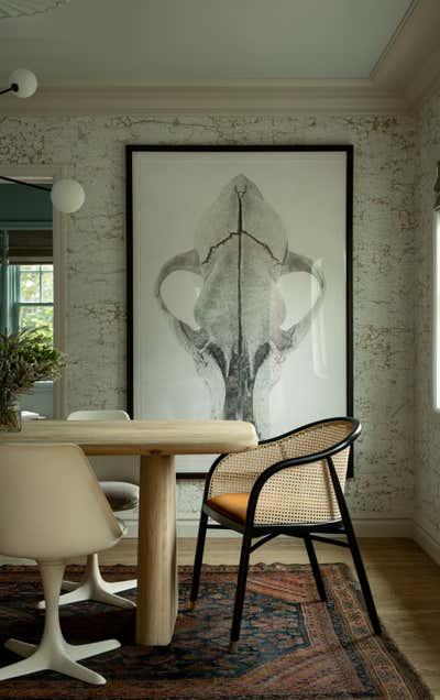 British Colonial Dining Room. Circle House by Susannah Holmberg Studios.