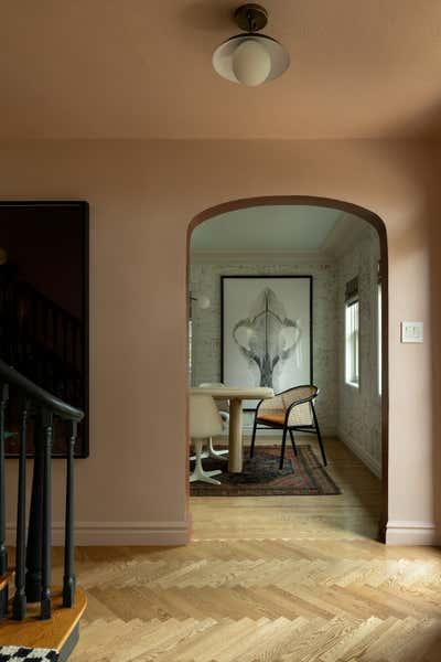 British Colonial Entry and Hall. Circle House by Susannah Holmberg Studios.