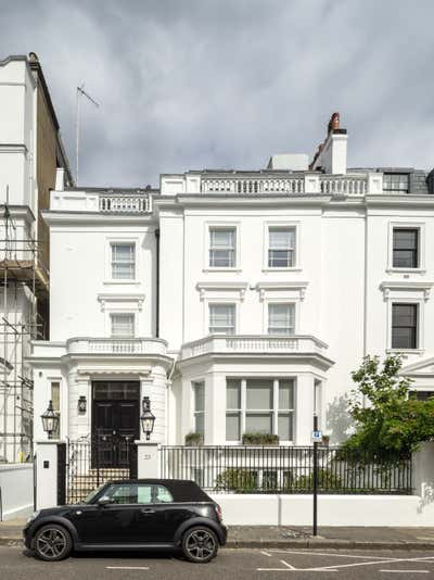 Regency Exterior. Georgian Townhouse by Woolf Interior Architecture & Design.