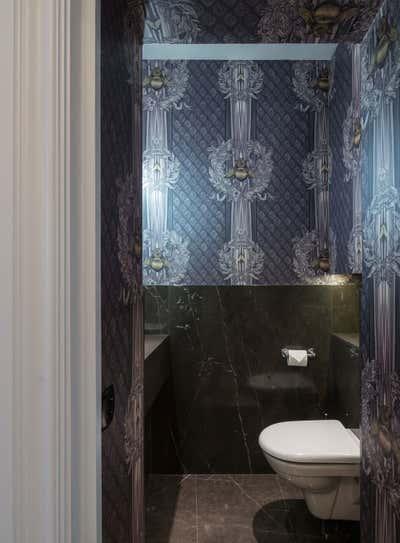 Mid-Century Modern Bathroom. Georgian Townhouse by Woolf Interior Architecture & Design.