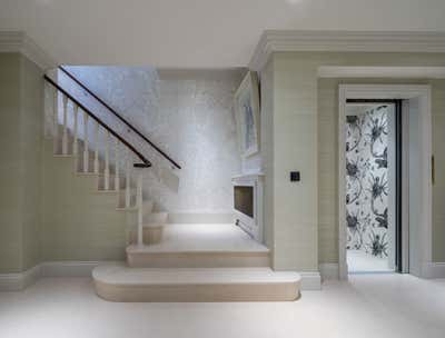 Regency Entry and Hall. Georgian Townhouse by Woolf Interior Architecture & Design.