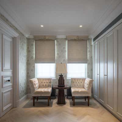 Regency Storage Room and Closet. Georgian Townhouse by Woolf Interior Architecture & Design.