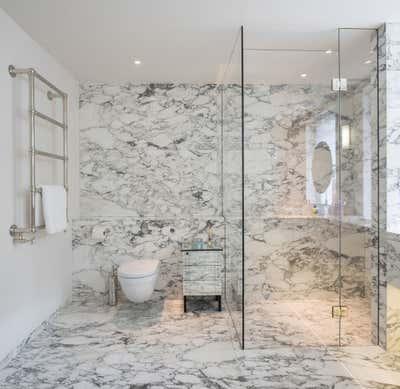 Regency Bathroom. Georgian Townhouse by Woolf Interior Architecture & Design.