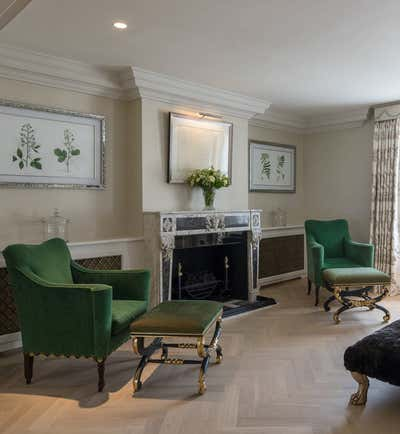 Regency Living Room. Georgian Townhouse by Woolf Interior Architecture & Design.