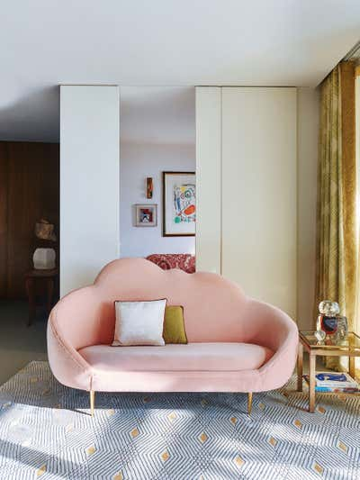 Mid-Century Modern Living Room. Gasholders by Woolf Interior Architecture & Design.