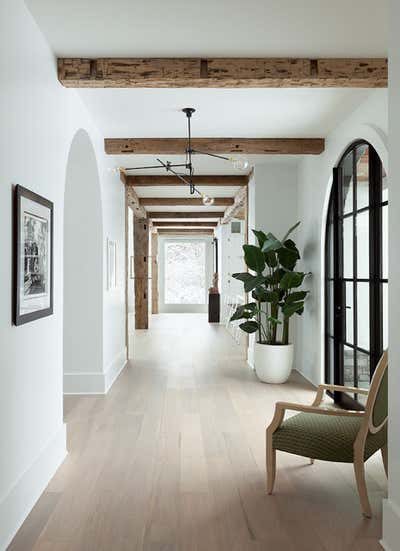 Contemporary Entry and Hall. Rochester Home  by The Brooklyn Home Co..