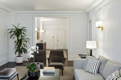 Scandinavian Living Room. RSD Apartment by Fink & Platt Architects LLC.
