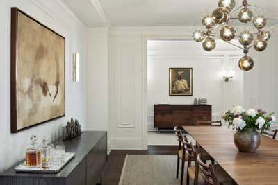 Scandinavian Dining Room. RSD Apartment by Fink & Platt Architects LLC.