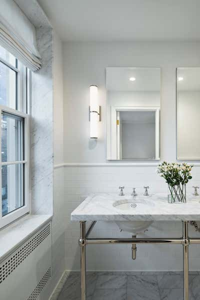 Scandinavian Bathroom. RSD Apartment by Fink & Platt Architects LLC.