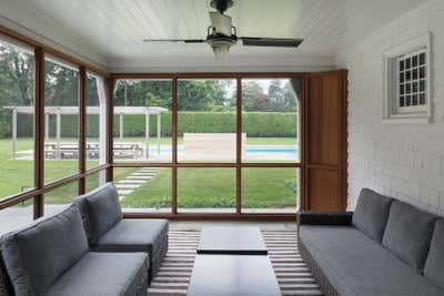 Country Patio and Deck. EH House by Fink & Platt Architects LLC.