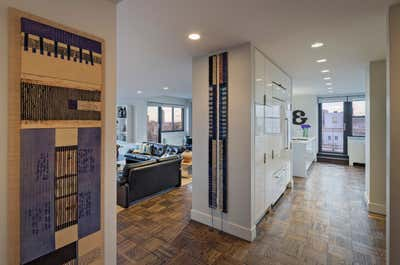 Contemporary Apartment Entry and Hall. UES Apartment by Fink & Platt Architects LLC.