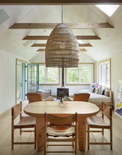 Beach Style Living Room. Montauk by The Brooklyn Home Co..