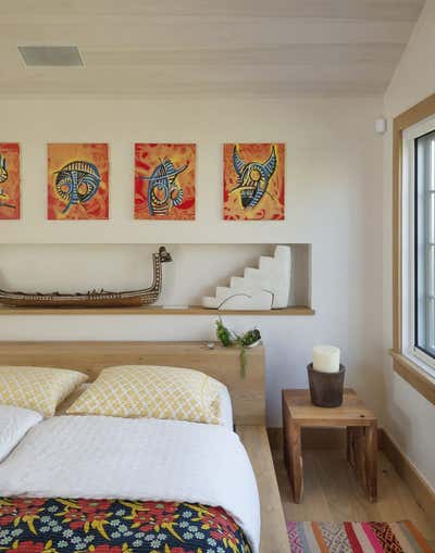 Beach Style Bedroom. Montauk by The Brooklyn Home Co..