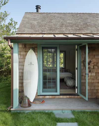 Beach Style Exterior. Montauk by The Brooklyn Home Co..