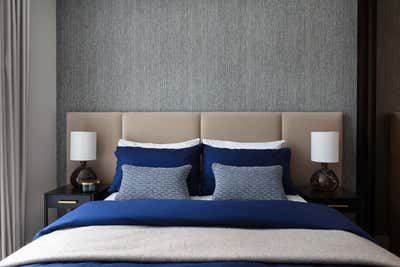 Contemporary Bedroom. Park Place by Shanade McAllister-Fisher Design.